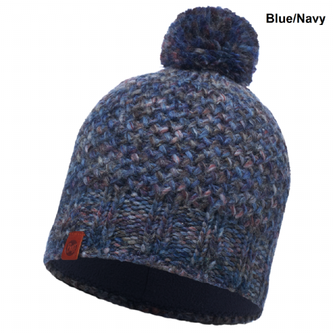 Buff Unisex Margo Knitted Hat - Comfort Fit - Fleece Band - One Size